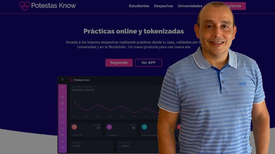 """Entrevista al CEO y fundador de Potestas Know: """"solucionamos problemas en el ámbito legal a  estudiantes, despachos y universidades"""""""